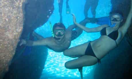 Diving, Milos