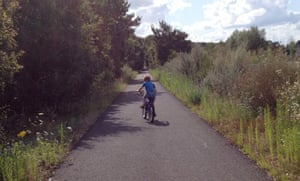William races ahead on the voie verte