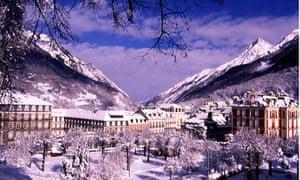 The ski resort of Cauterets