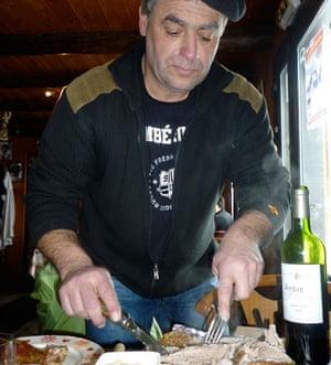 Eric at L'Etape du Berger