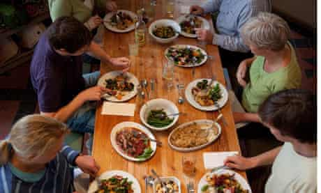 Hearty food at the Riverford Field Kitchen