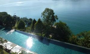 Lalu Hotel infinity pool