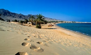 Beach, Nuweiba, Sinai, Egypt