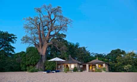 Kaya Mawa resort on Likoma Island, Malawi.