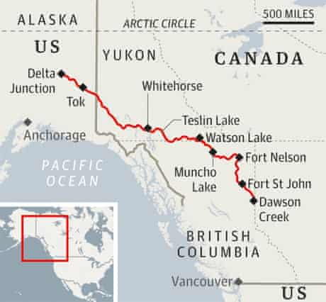 The Alaska Highway Road Trip Through The Wilds Canada Holidays The Guardian