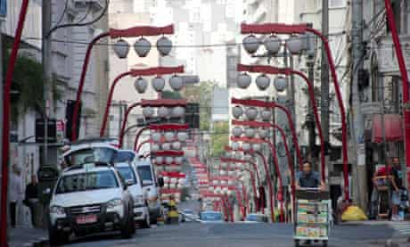 Sao Paulo, Brazil's largest city