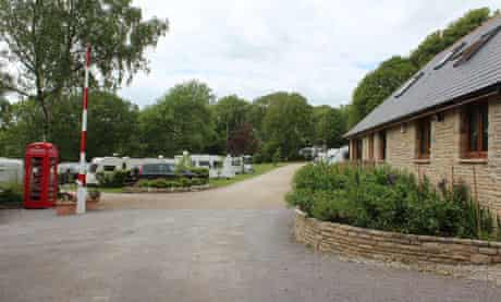 Corfe Castle Camping and Caravanning Site