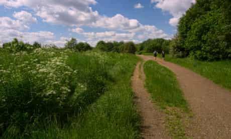 Parkland Walk, north London