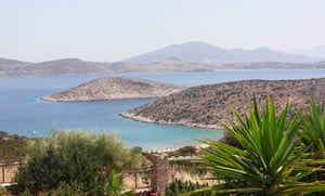 View of islands from Iraklia