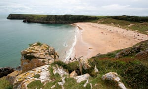 Barafundle Beach from the south.