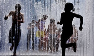 South Bank fountains