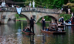 Cambridge University punting