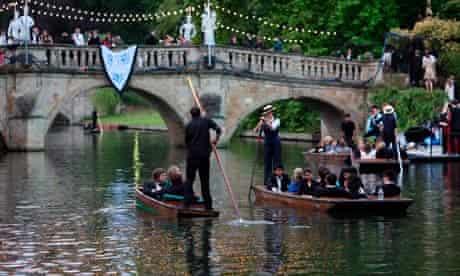 Cambridge University punting