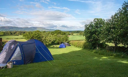 Kildale Barn campsite