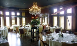 Dining room at the Cleveland Tontine