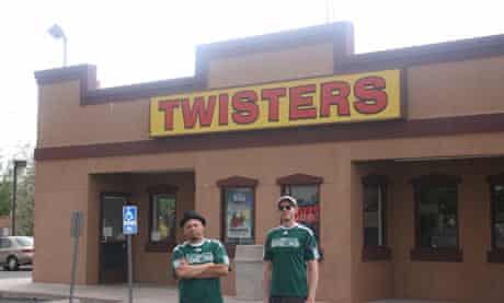 Outside Twisters with Mike and Jesse