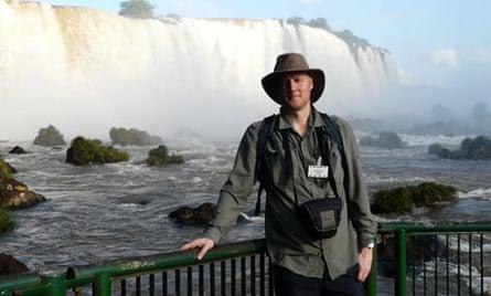 Matt Stanley at Iguaçu Falls