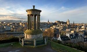 Edinburgh dawn