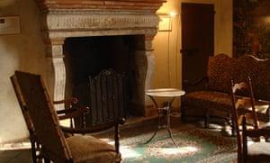Period sitting room at Antica Corte