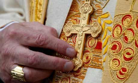 Cardinal O'Brien's cross