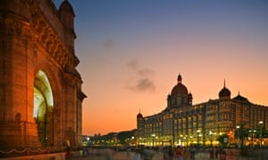 Gateway of India and the Taj Mahal Palace Hotel