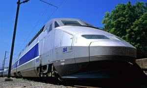 TGV HIGH-SPEED TRAIN FRANCE