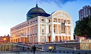 Teatro Amazonas Opera House, Manaus, Brazil