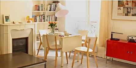 Appartement Blanc, Marais-Oberkampf, Paris
