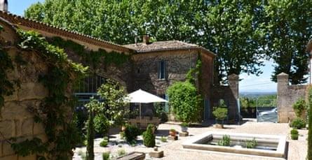 Le Mas des Oules, nr Uzès, Languedoc-Rousillon