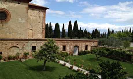 Sant'Anna in Camprena, Tuscany