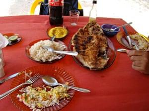 Roast timbacqui, Brazil
