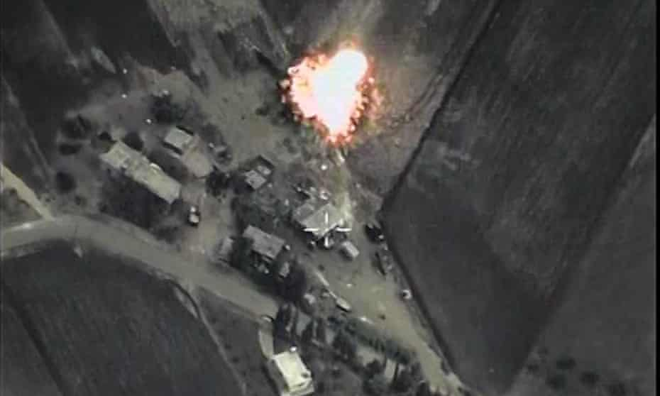 Russia carries out air strikes