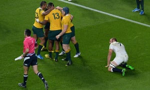 IRB Rugby World Cup England Australia