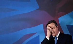 Britain's Prime Minister Cameron