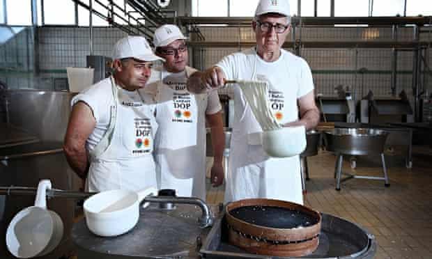 Mozzarella makers