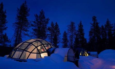 Glass Igloo, Kakslauttanen, Lapland, Finland