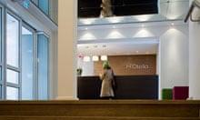 Hotello lobby, Munich