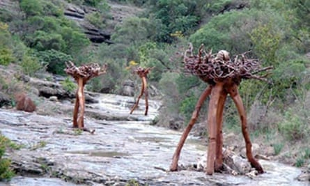 Sentier Sculpturel, Mayronne, France