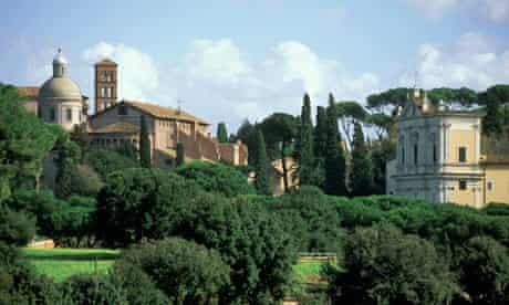 Celio Hill, Rome, Italy