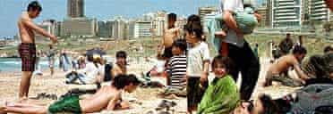 Beirut beach, Lebanon