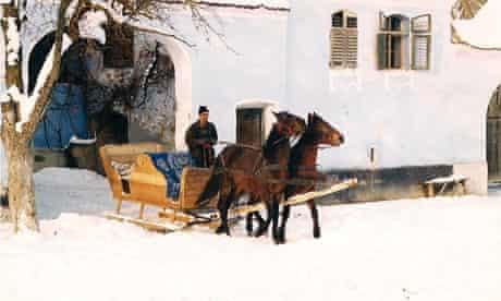 Romanian sleigh