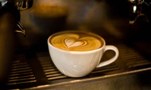 Lovingly served coffee in Gothenburg.