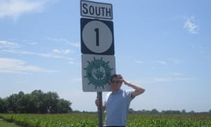 Ian by the Great River Road