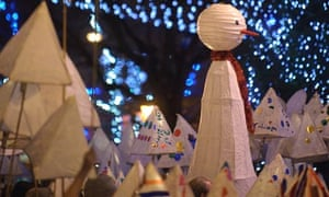 Salisbury lantern parade.