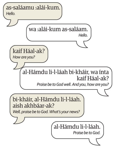 Learn Arabic   Meeting people   Travel   The Guardian