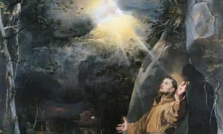 St Francis Receiving the Stigmata