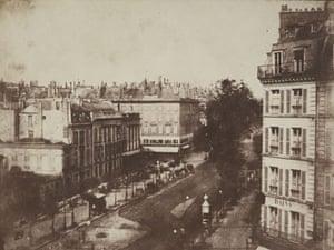 19th-century travel: The  boulevards of Paris, May-June  1843