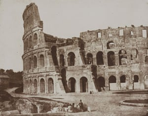 19th-century travel: The Colosseum, Rome, May 1846