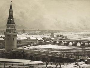 19th-century travel: Moscow,  c. 1841