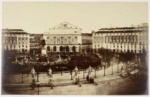 19th-century travel: The Royal Opera House, Madrid, 1853